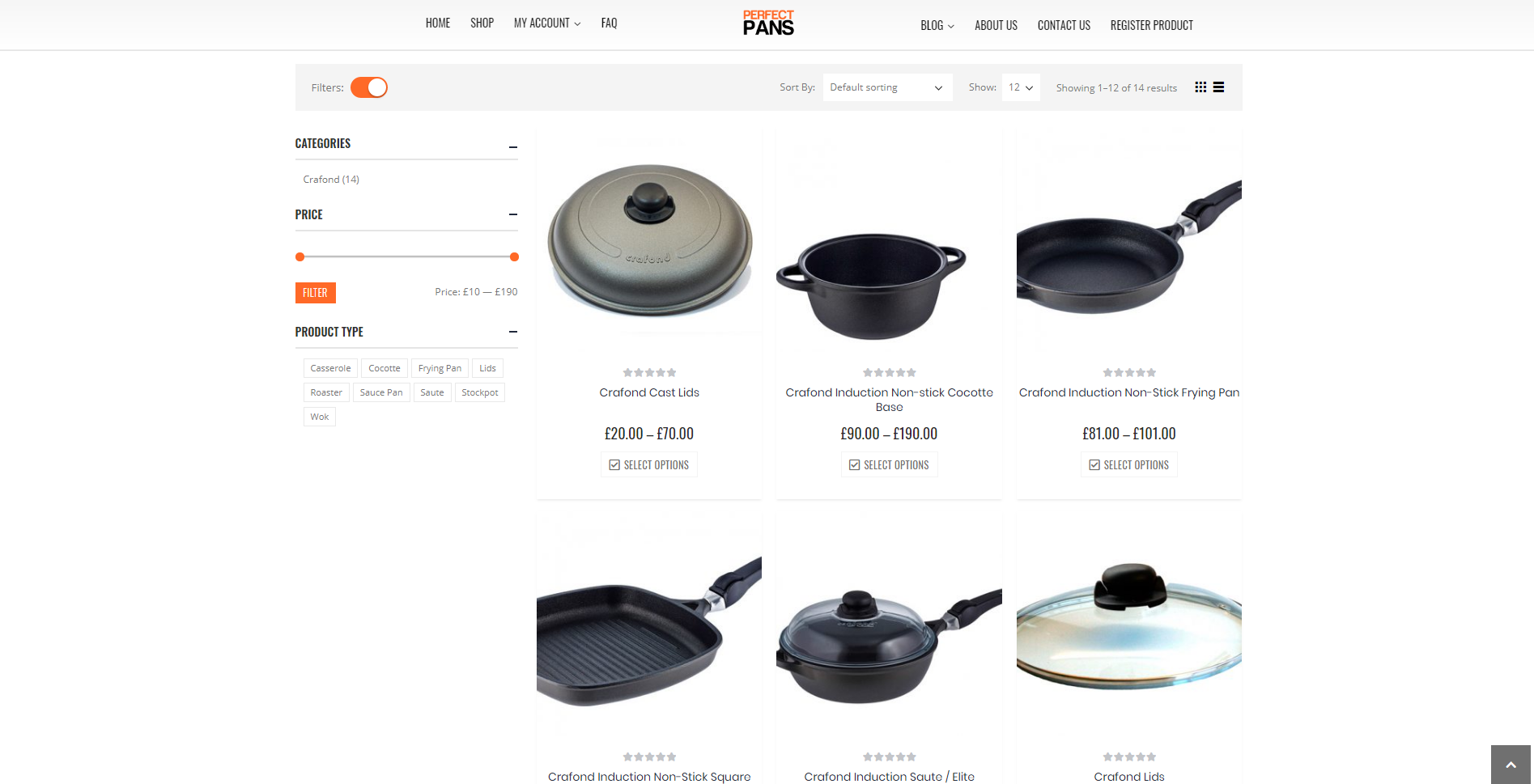 Perfect Pans 2